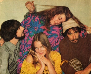 The Mamas and the Papas (John Phillips, far right)